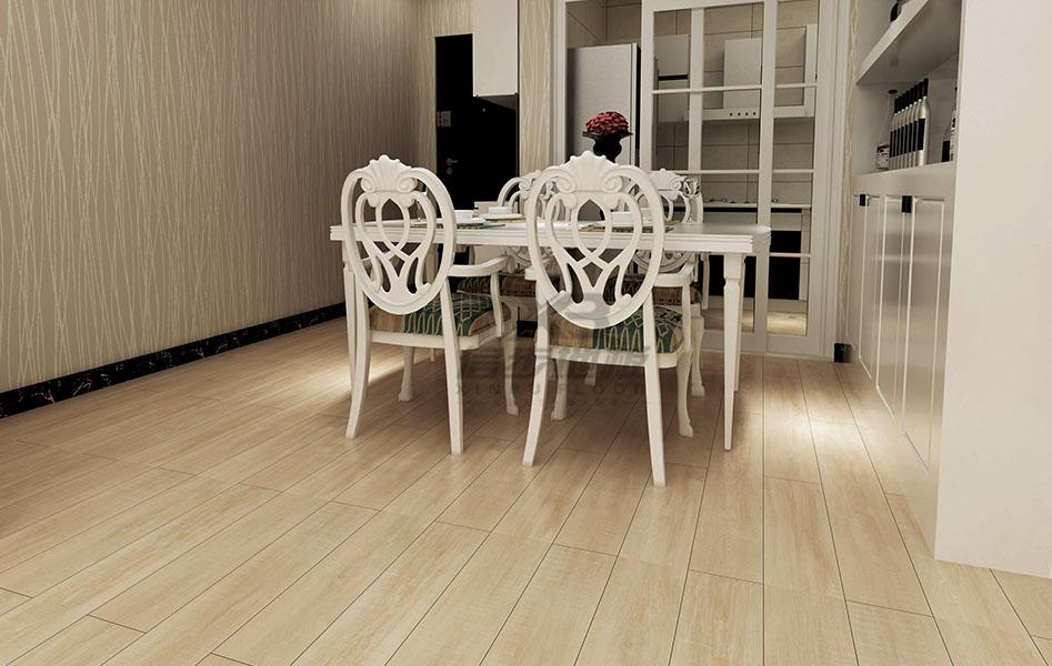 信步浅色系地板 更适合你家的简约风
